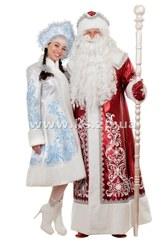 Новые костюмы Деда Мороза и костюмы Снегурочки