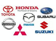Разборка Honda Mazda Toyota Nissan Mitsubishi Subaru Suzuki Запчасти