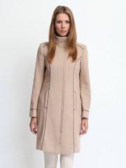 Продам женское пальто Бежевое новое  top secret 46 размер(50-52)