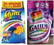 Стиральный порошок Gallus 10 kg - 118 грн.Multicolor 10 кг-116грн