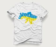 Акция! Мужская футболка «Карта Ukraine» по сниженной цене