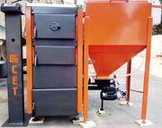 Автоматический твердотопливный котел на пеллетах СЕТ 25 кВт
