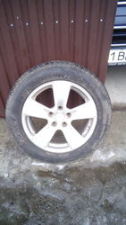 Продам шины с дисками Pirelli scorpion zero 235/55 R17 (лето)