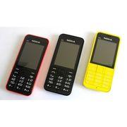 Мобильный телефон Nokia Asha 220 Dual Sim ЖЕЛТЫЙ/КРАСНЫЙ
