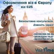 Оформление визы в Польшу – рабочая,  шопинг,  шенген,  мультивиза
