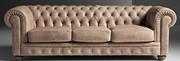 Изготовление мягкой мебели с элементом каретной стяжки
